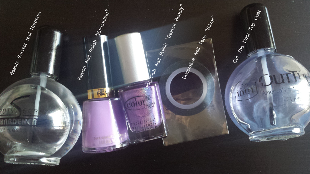 Super easy nail art you can do yourself inspire love beauty so firstly i started with freshly trimmed and buffed nails and applied my base coat i use the beauty secrets nail hardener which i bought at sallys beauty solutioingenieria Images