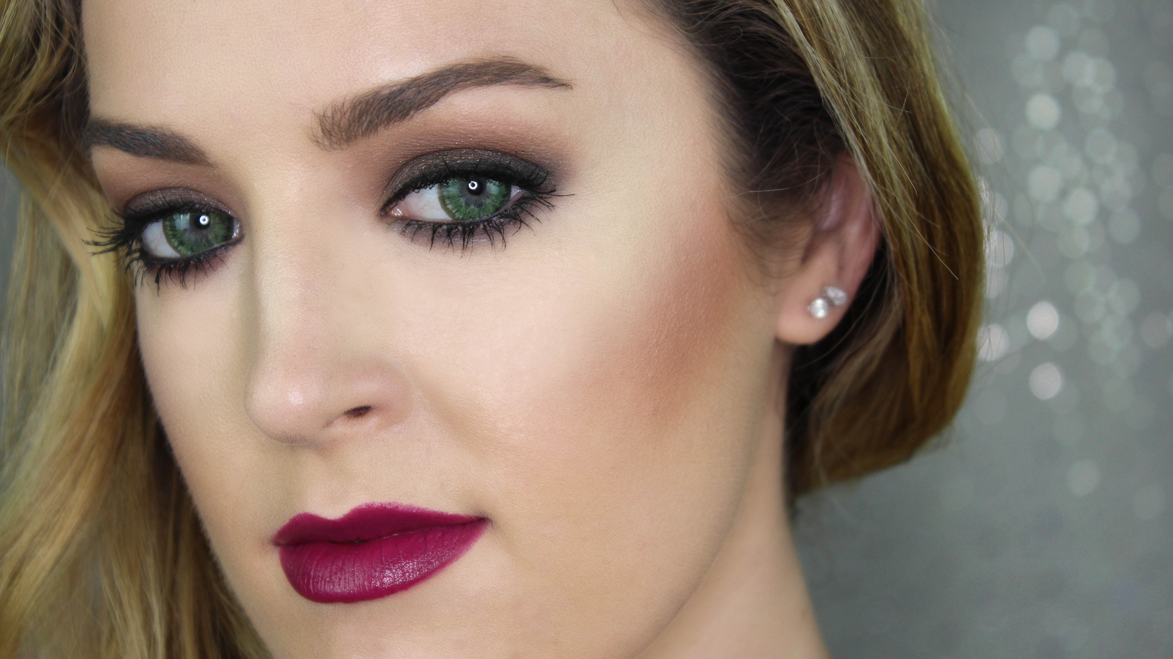 Tutorial How To Do Sexy Smokey Eyes And Rich Berry Lips